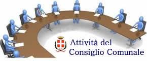 Attività del Consiglio comunale